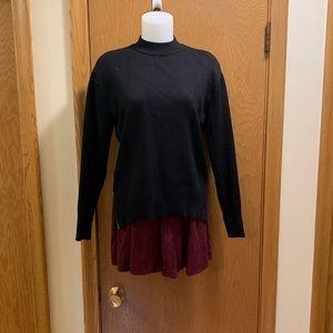 NEW ITEM❕Brandy Melville Suede Skater Skirt